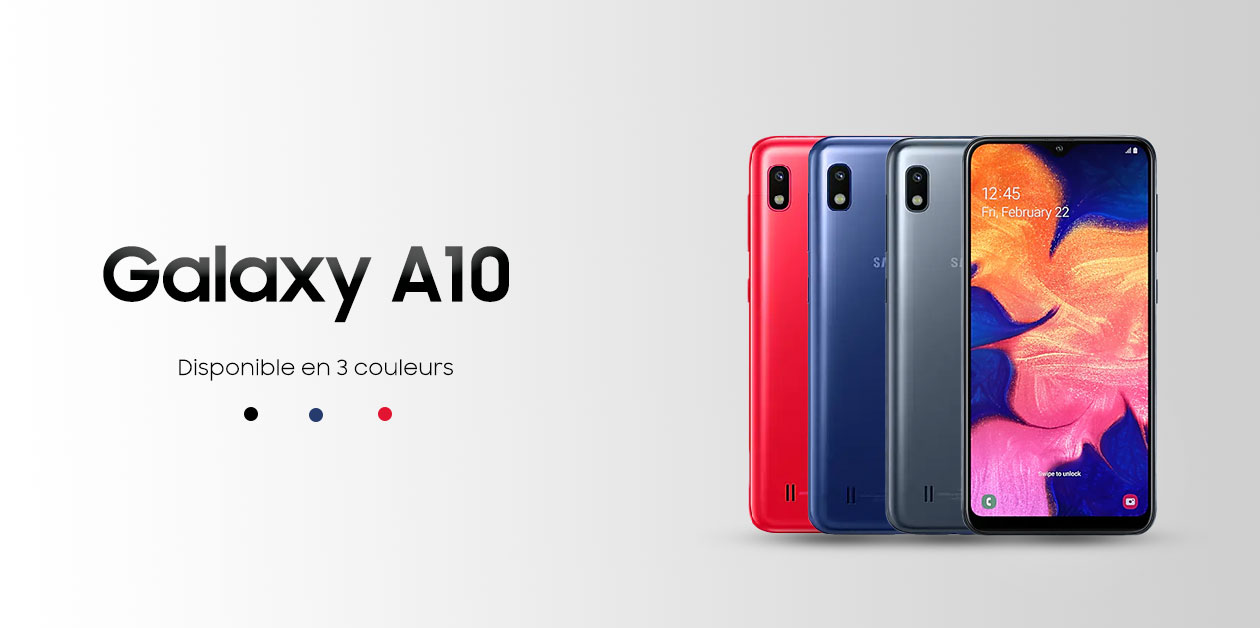 galaxy a10 en tunisie